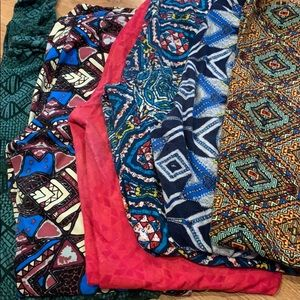 Lot of 6 Lularoe tall and curvy leggings